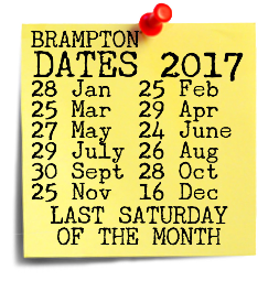 Brampton Farmers Market dates for 2017