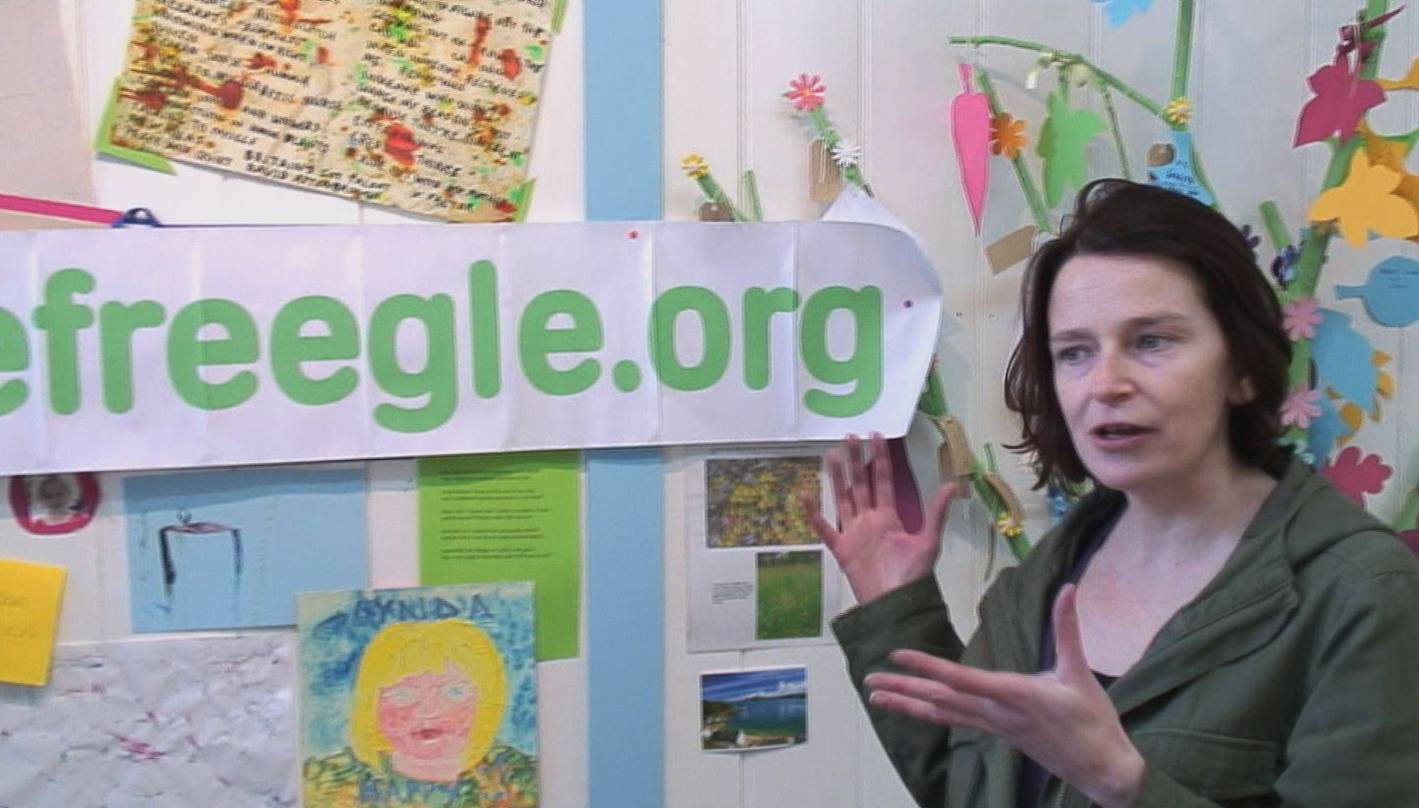 Freegle volunteer Juliet explains Freegle